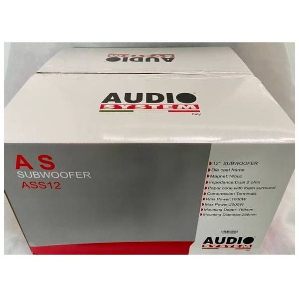 "Audio System ASS 12"" (30cm) D2"