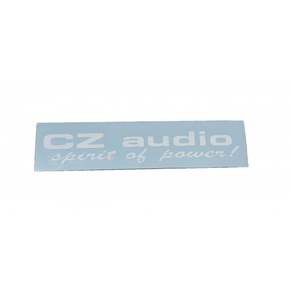 CZ Audio Sticker