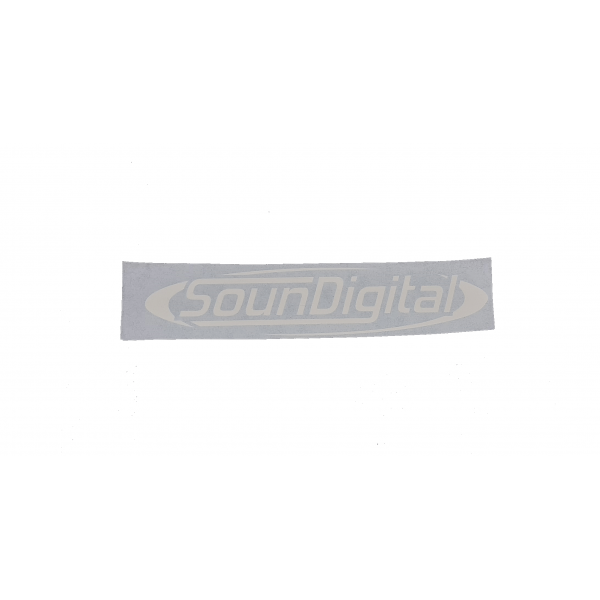SounDigital Sticker 16 x 4 cm