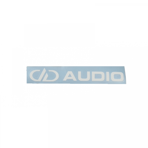 DD Audio Sticker 15 x 2 cm