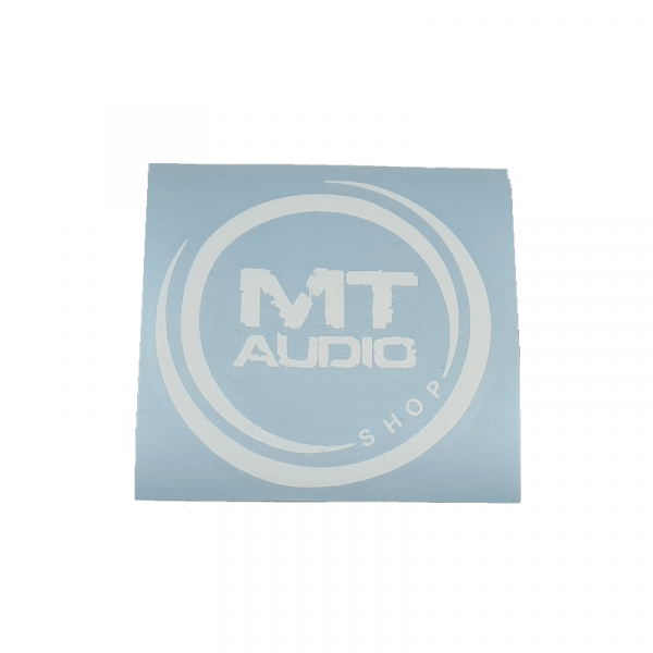 MT Audio Sticker - Round 10cm