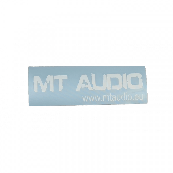 MT Audio Sticker - Standard...